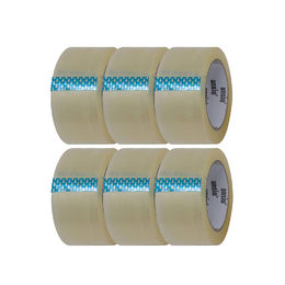 Clear Packing Box Tape 2 inches x 66 Yards (6 Pack)