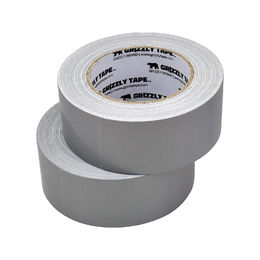 Grizzly Brand Professional Grade Duct Tape, Silver Color Multi Pack (2 Pack)