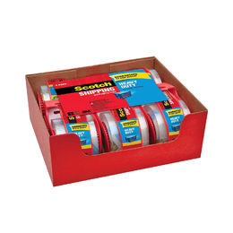"Scotch Heavy Duty Shipping Packaging Tape, 1.88"" x 800"" (6 Pack)"