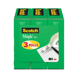 Shop Scotch Brand Magic Tape, Standard Width, 3/4 x 1296 Inches (3 Pack)