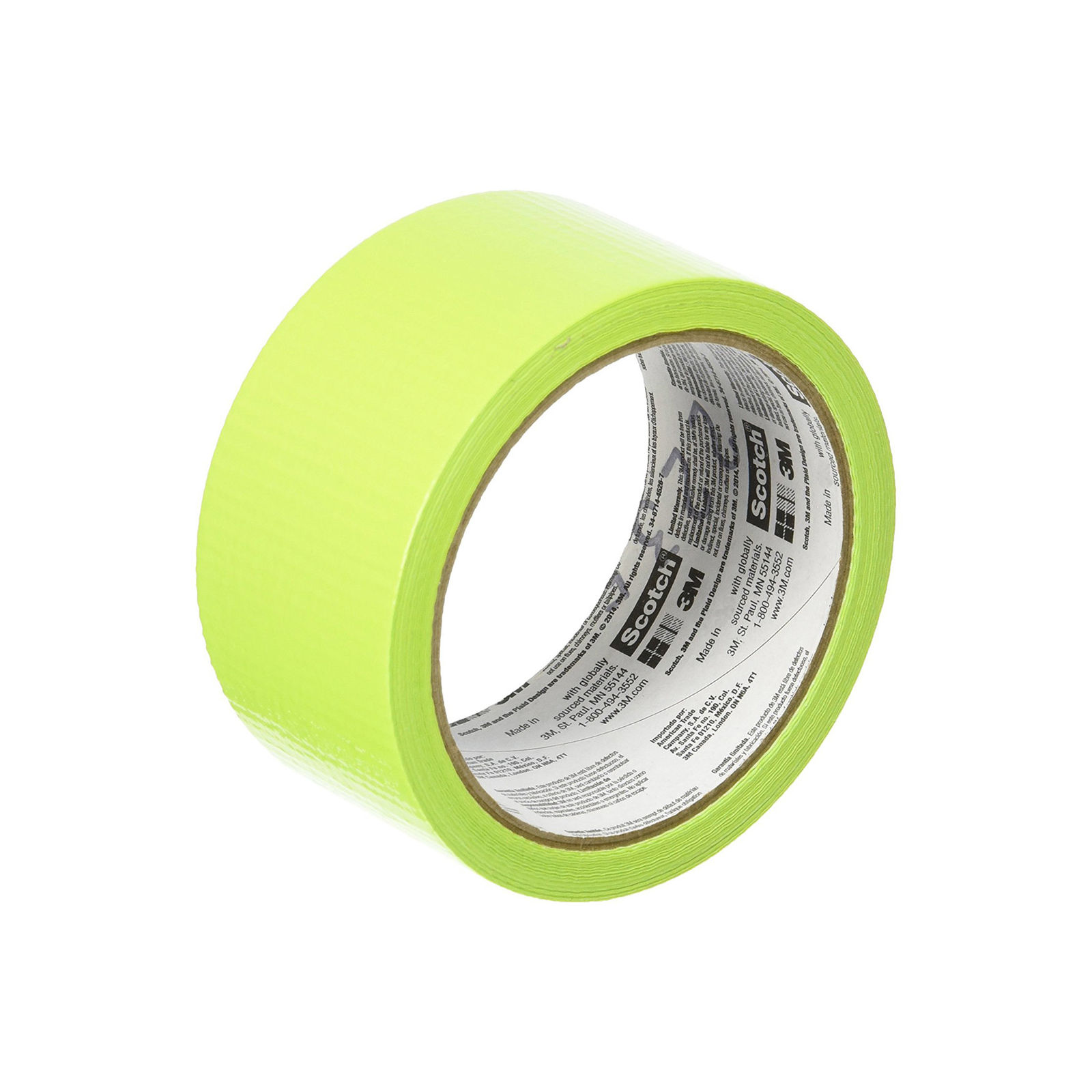 Scotch Duct Tape, Green Apple, 1.88-Inch by 20-Yard