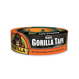 "Shop Gorilla 6035180 Tape, Black Duct Tape, 1.88"" x 35 yd"