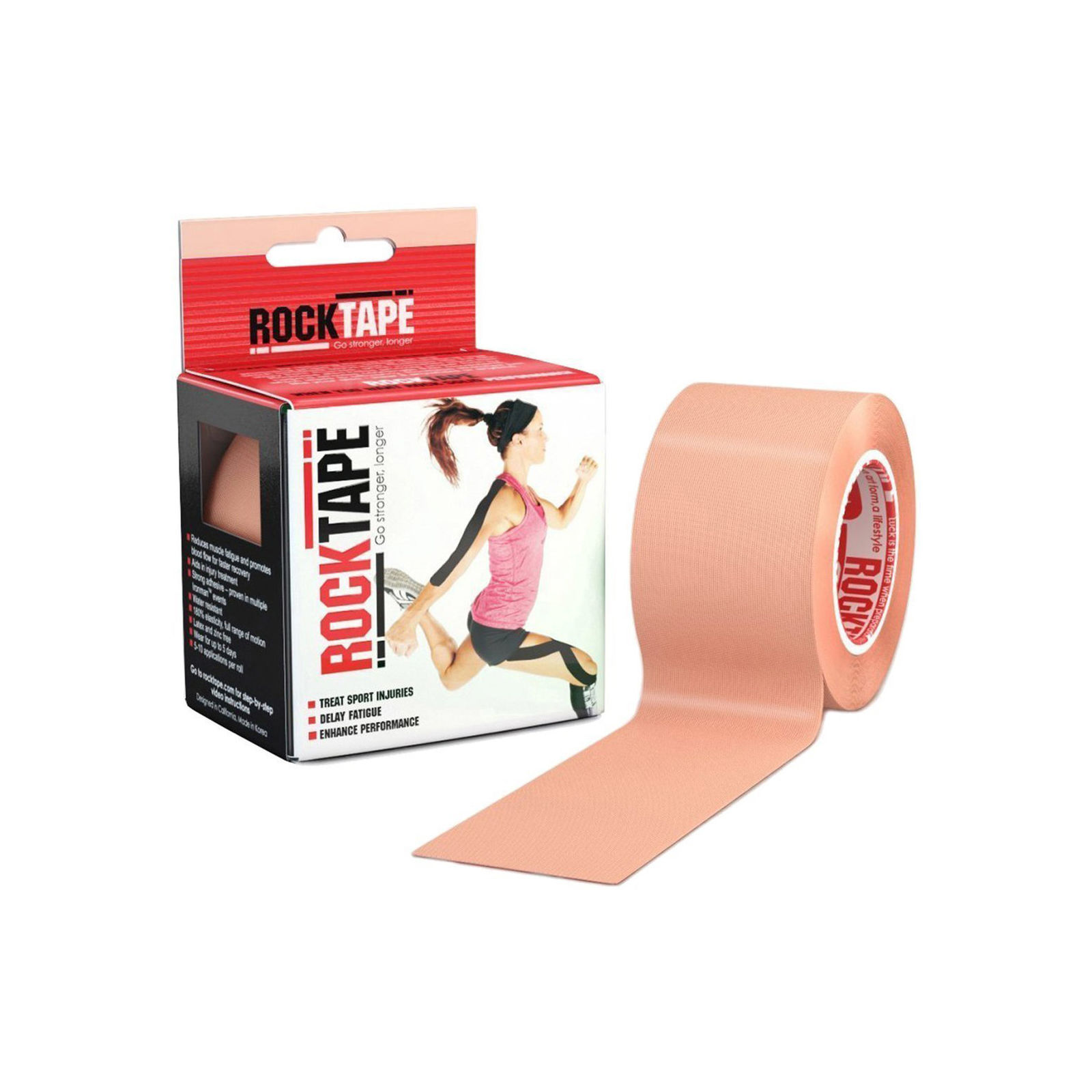Rocktape Kinesiology Tape for Athletes - Reduce Pain and Injury Recovery