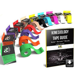 Shop Physix Gear Sport Kinesiology Tape with Free Illustrated E-Guide - 16ft Uncut Roll