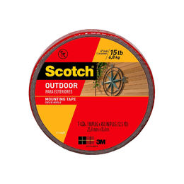 Shop Scotch Outdoor Mounting Tape, 1-inch x 450-inches
