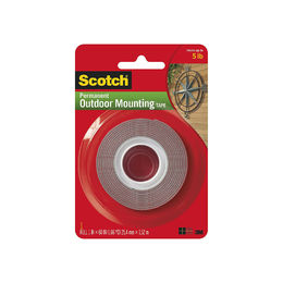 "Shop Heavy-Duty Exterior Mounting Tape, Holds 5 lb., 1""x60"""