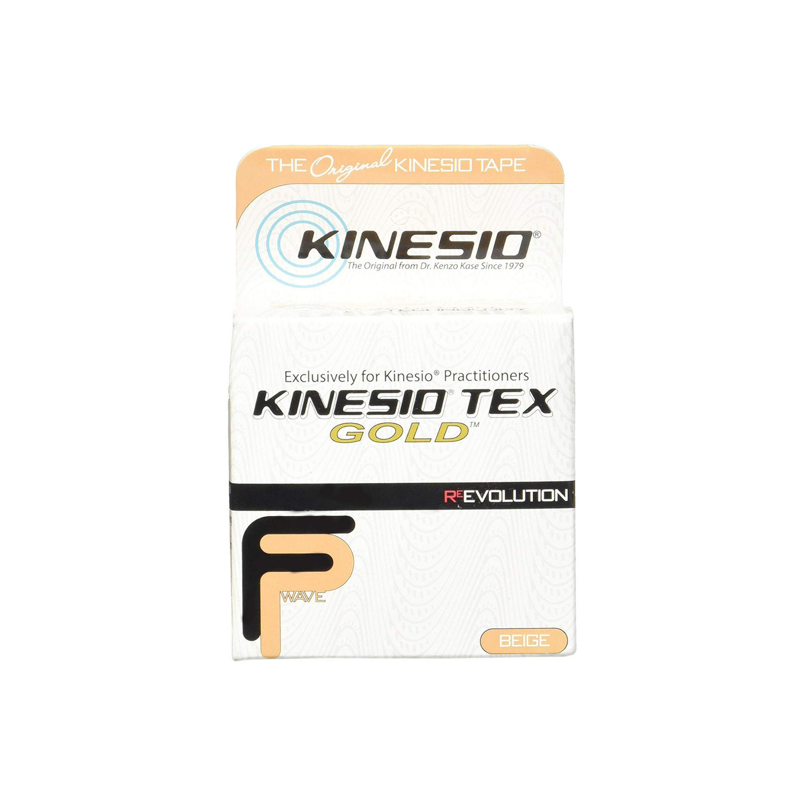 "Kinesio Tex Gold FP 2"" x 16.4"" Beige Single Roll"