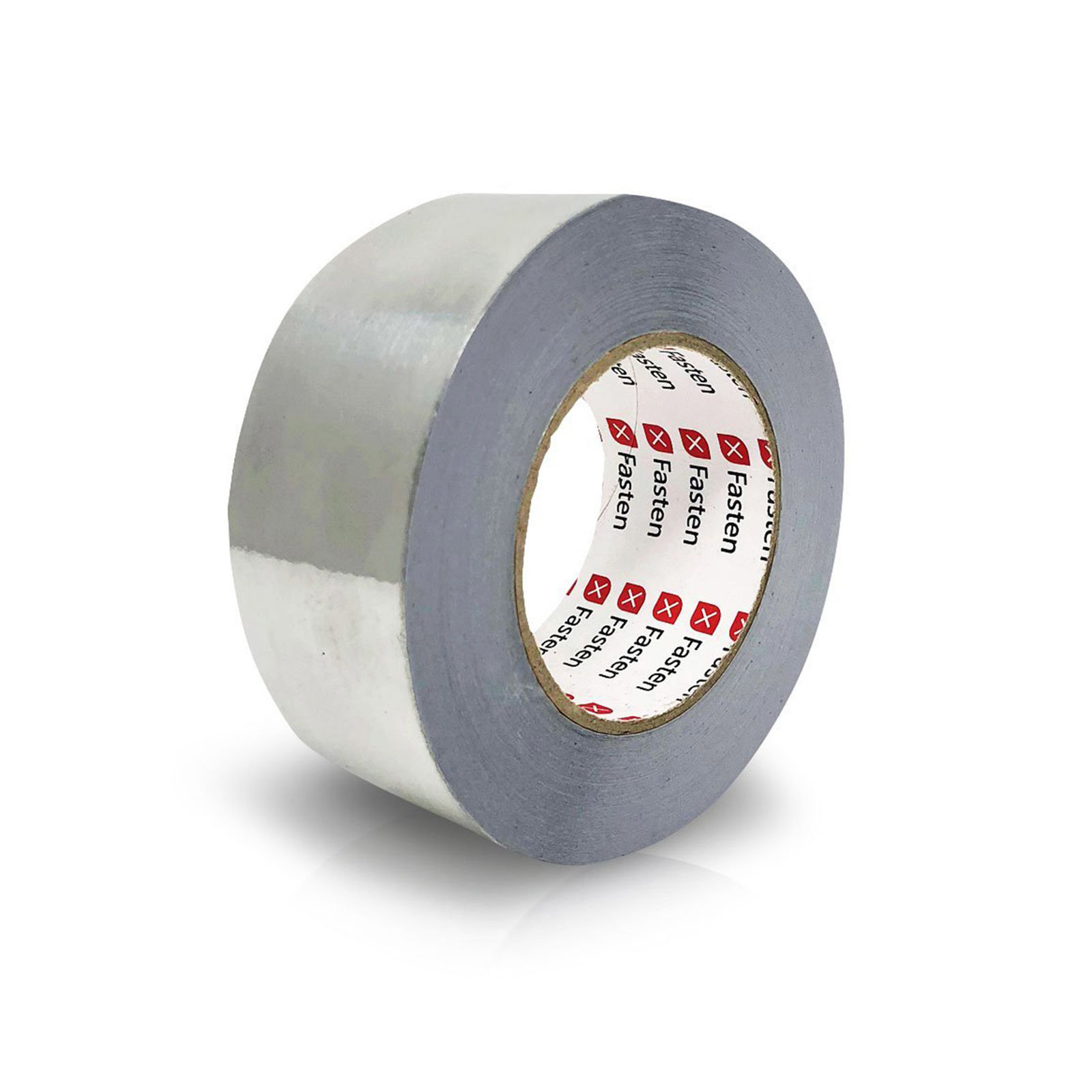 XFasten Professional Aluminum Foil Tape, 3.6 mil, 2 Inches x 55 Yards HVAC Tape