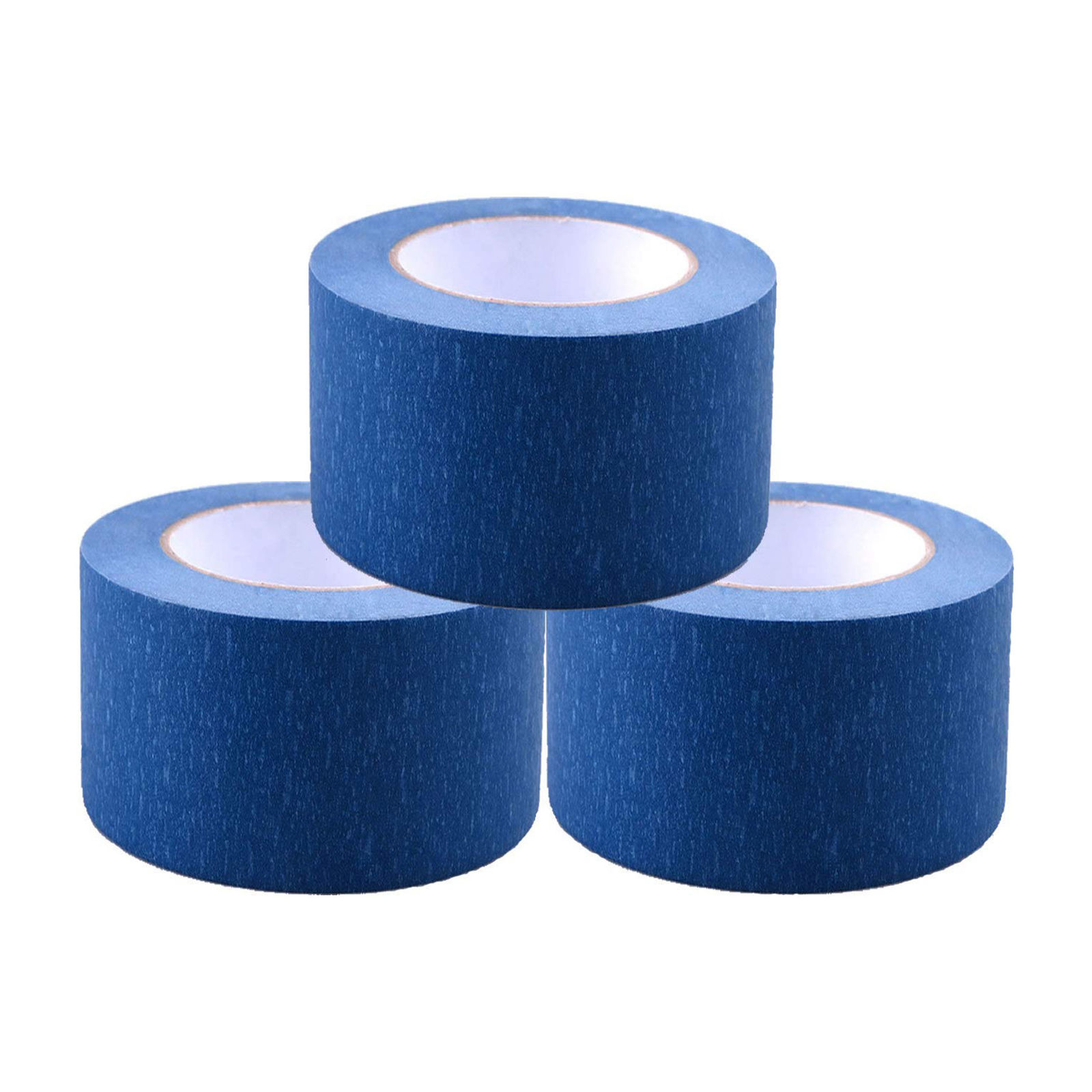 "Painters Tape 2"" x 60 yd (3 Pack) Professional Blue Painters Masking Tape"